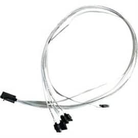 Adaptec Cable 2279800-R Internal Mini Attached SCSI (SFF-8643 to SATA SFF-8448) Brown Box