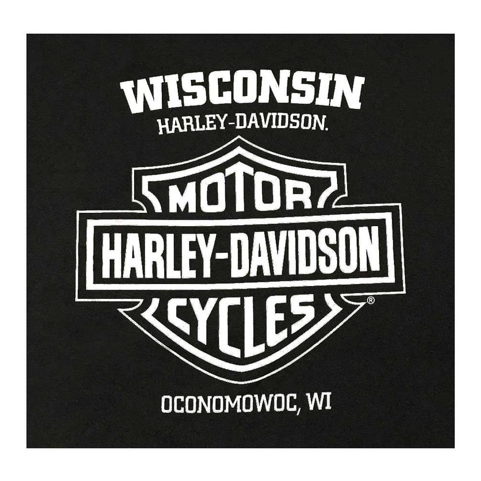 Black Details about  /Harley-Davidson Men/'s Winged Eagle Crew-Neck Short Sleeve T-Shirt
