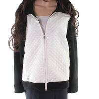 Lauren by Ralph Lauren Black Women's Size Large L Quilted Jacket
