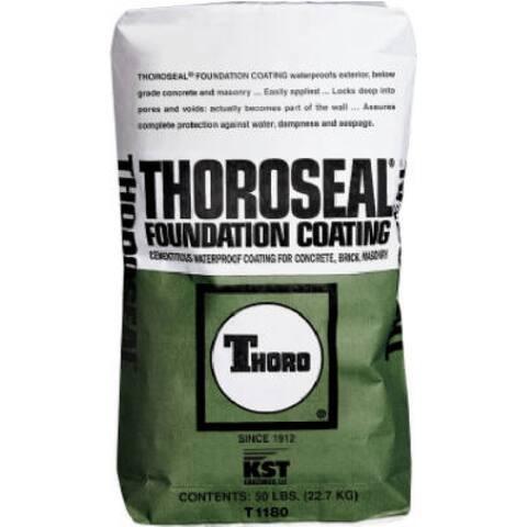 Thoro T1180 Thoroseal Foundation Coating 50 Lb, Gray
