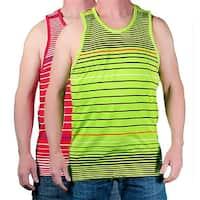 PJ Mark Men's Striped Tank Top (2-Pack)
