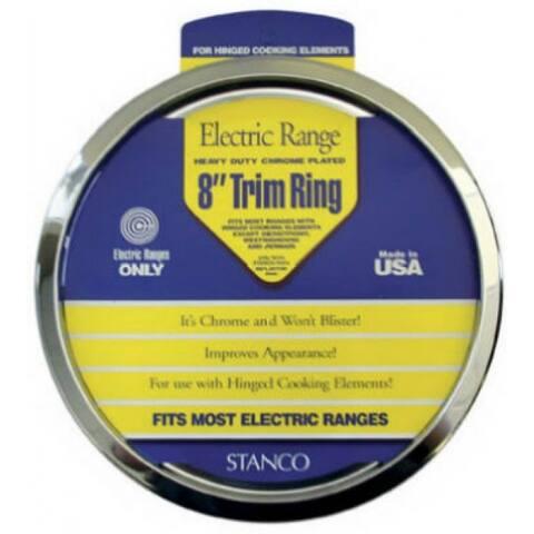 "Stanco UKT-6 Universal Trim Ring, Chrome Plated, 6"""
