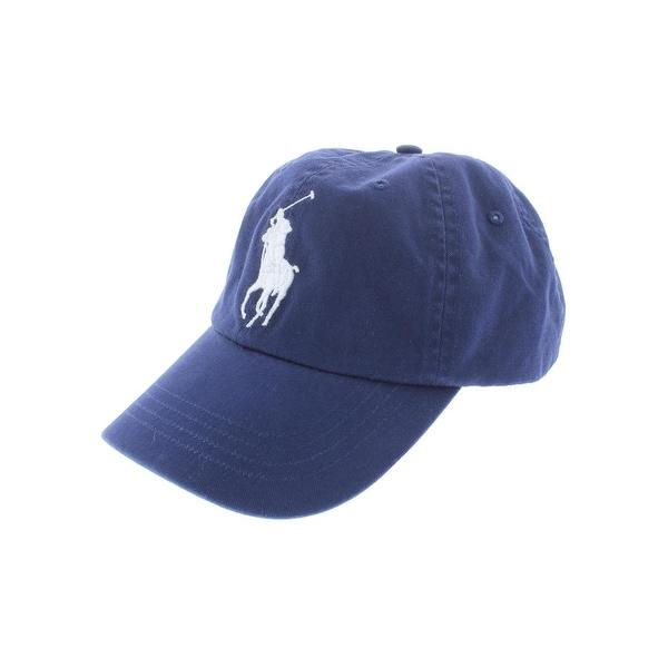 Shop Polo Ralph Lauren Mens Ball Cap Chino Signature - o s - Free ... 3ddfac60a8e