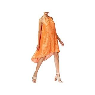 MICHAEL Michael Kors Womens Casual Dress Metallic Shift