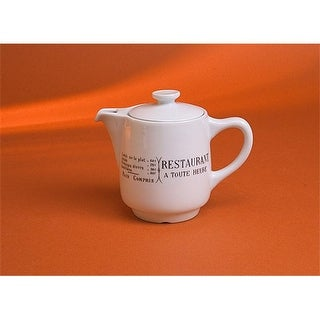 Pillivuyt 332855BR Brasserie Coffee/Tea Pot - 18 oz.