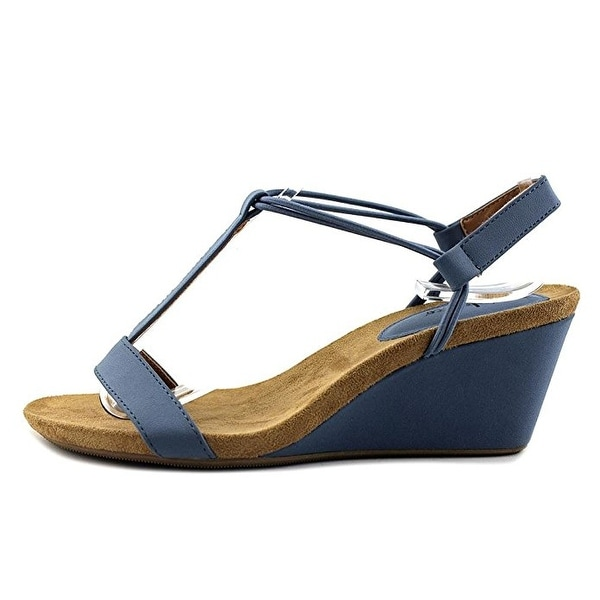 Style & Co. Womens Mulan Open Toe Casual T-Strap Sandals - 8