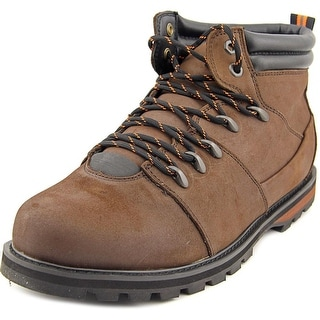Globe Yes Apres Men Round Toe Leather Brown Hiking Boot