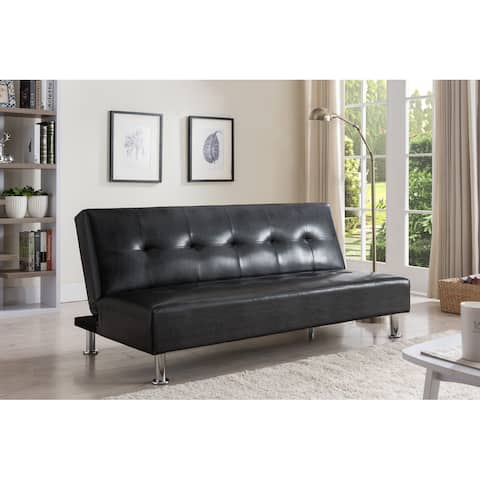 Leather Convertible Sofa Bed Sleeper