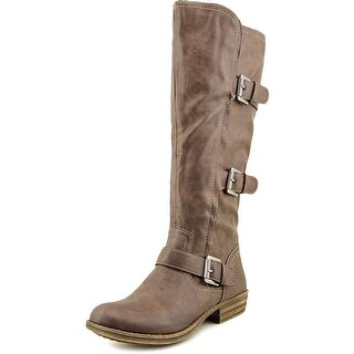 American Rag Jeffrey Wide Calf Round Toe Synthetic Knee High Boot