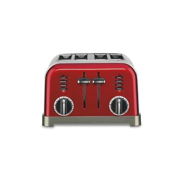 Conair-cuisinart cpt-180mr metal classic 4-slice toaster