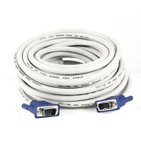 Unique Bargains 33Ft 10M Extension VGA 15 Pin Male to Male Cable for LCD Monitor Projector