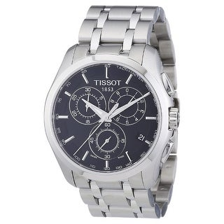 Link to Tissot Men's T0356171105100 'Couturier' Chronograph Stainless Steel Watch - Multi Similar Items in Men's Watches