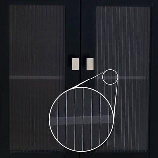Elements VGLASS-02 Replacement Glass Door Panel for VAN063 Vanity Cabinet