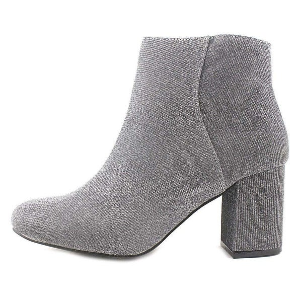 Diba Womens Brodie Fabric Almond Toe Ankle Fashion Boots