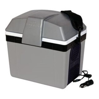 Koolatron P9 Traveller III 12V Thermoelectric Beverage Cooler - gray