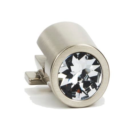 """Alno C2661 9/16"""" Wide Round Crystal Cabinet Ring Pull Mount"""