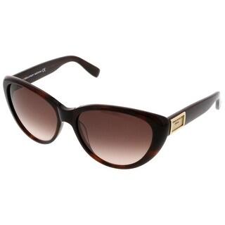Dsquared DQ0145/S 52F Havana Cateye Sunglasses - 58-16-135