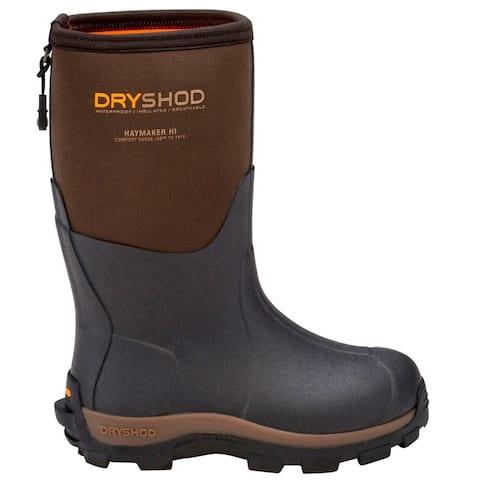 Dryshod Haymaker Farm Rain - Kids Boys Boots - Brown