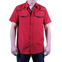 MO7 Men's Pinstripe Woven Shirt