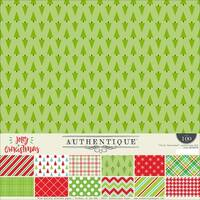 "Authentique Collection Kit 12""X12""-Jolly Christmas"