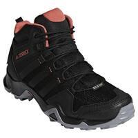 adidas Women's Terrex AX 2.0 R Mid GORE-TEX Hiking Shoe Black/Black/Trace Scarlet