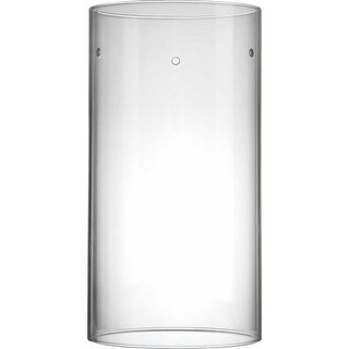 """Volume Lighting GS-620 11.5"""" Height Clear Glass Cylindrical Shade"""