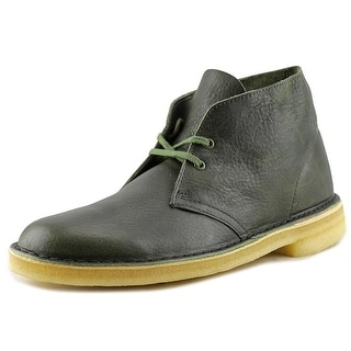 Clarks Desert Boot Round Toe Leather Desert Boot