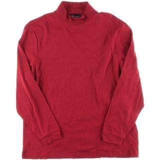 John Ashford Mens Turtleneck Long Sleeve Casual Shirt