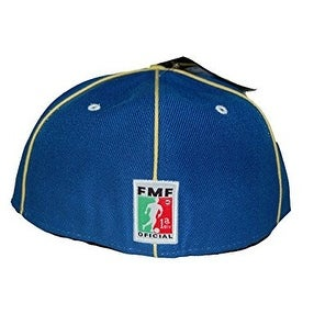 FMF America Flex Fit Soccer Futbol Hat - (3 Sizes Available), S - Yellow