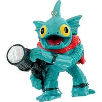 "3.25"" Carlton Cards Heirloom Skylanders Gill Grunt Christmas Ornament - BLue"