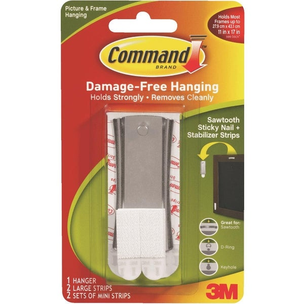 3M Command Sawtooth Hanger