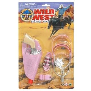 Gift Corral Western Toy Girls Pistol Spur Belt Wild Set Pink 87-89497