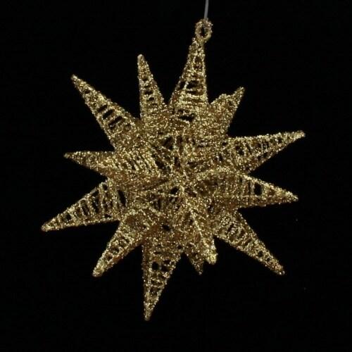 Gold Moravian Star