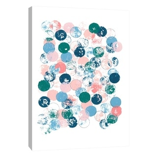 """PTM Images 9-108492  PTM Canvas Collection 10"""" x 8"""" - """"Imprint 2"""" Giclee Abstract Art Print on Canvas"""
