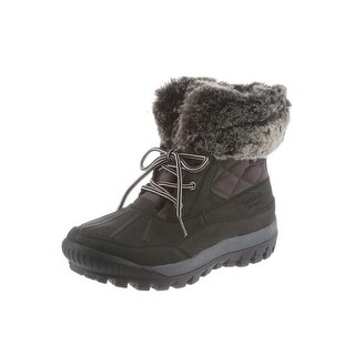 Bearpaw Boots Women Faux Fur Becka WP Cold Weather Short Lace Up