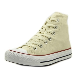 Converse Chuck Taylor All Star Core Hi Women Round Toe Canvas Ivory Sneakers