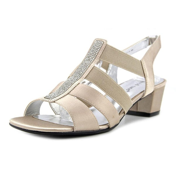 David Tate Eve Women Champagne Sandals