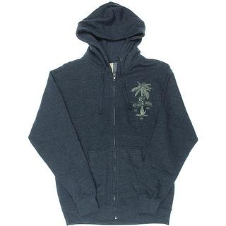 Reef Mens Long Sleeves Hooded Sweatshirt - M