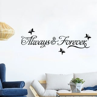 "Home Living Room Decor Removable DIY Wall Art Sticker Decal 23.5"" x 4.9"""