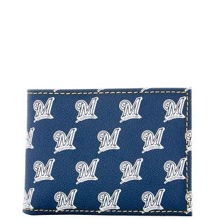 Dooney & Bourke MLB Brewers Credit Card Billfold (Introduced by Dooney & Bourke at $68 in Jul 2015)