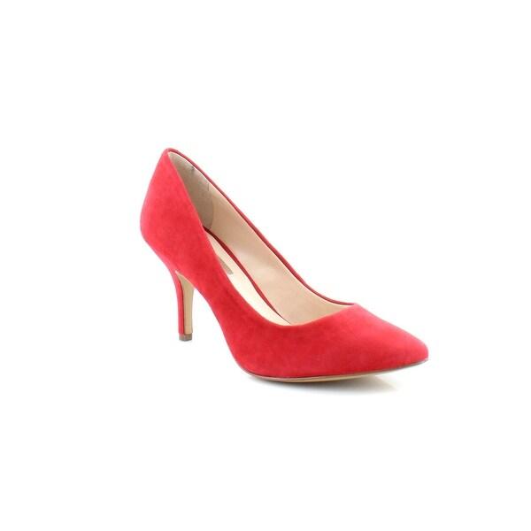 INC Zitah Women's Heels Bright Red