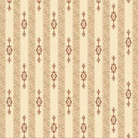 Pack of 6 Striped Holiday Home Wallpaper Backdrop 4' x 30' - brown