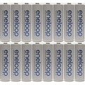 Panasonic Eneloop 4rd generation 16 Pack AA NiMH Pre-Charged Rechargeable Batteries+FREE BATTERY HOLDER - Thumbnail 0