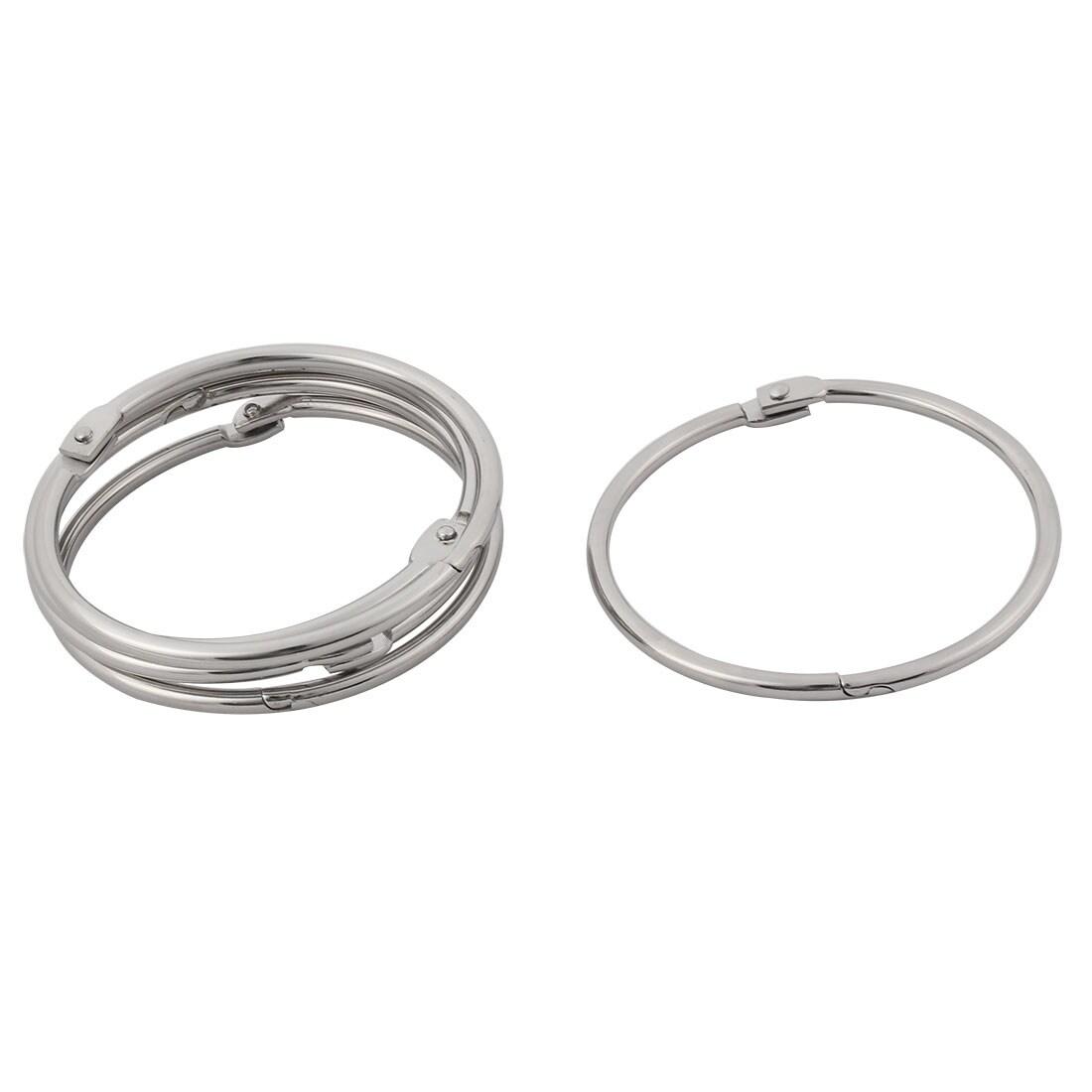 Shop Unique Bargainshandbag Wallet Free Diy Keyring Key Chain Split Loop Holder 75mm Inner Dia 5pcs Free Shipping On Orders Over 45 Overstock 18436280