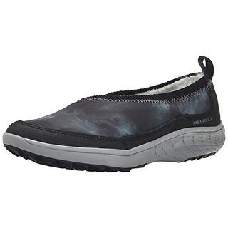 Merrell Womens Pechora Wrap Faux Fur Slip On Casual Shoes
