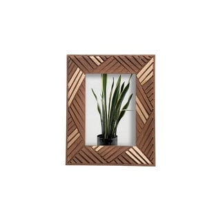 Link to Foreside Home & Garden 5 x 7 inch Decorative Carved Wood Picture Frame Similar Items in Decorative Accessories