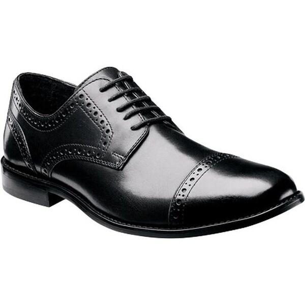 Shop Nunn Bush Men S Norcross 84526 Cap Toe Oxford Black