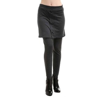 Mad Style Charcoal 2 In 1 Skirt & Leggings