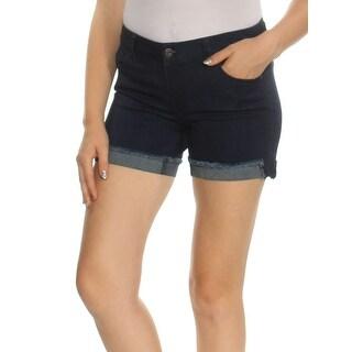 Womens Navy Short Juniors Size 5