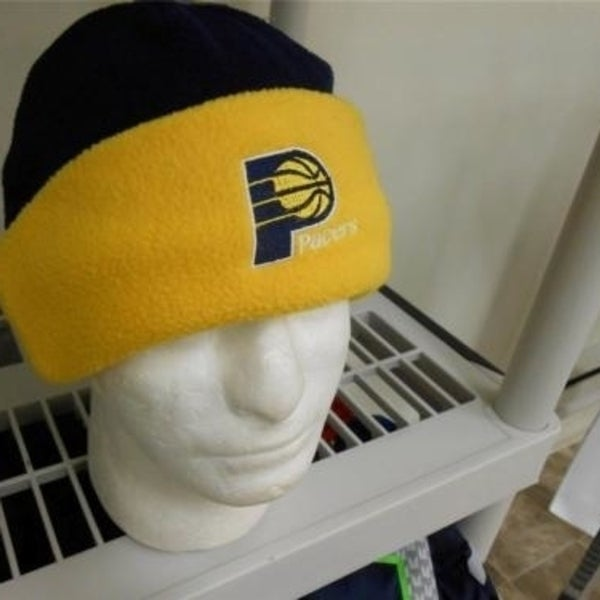 af20d64946375d Shop Indiana Pacers Mens Adult One Size Fits All Beanie Cap Hat - On ...